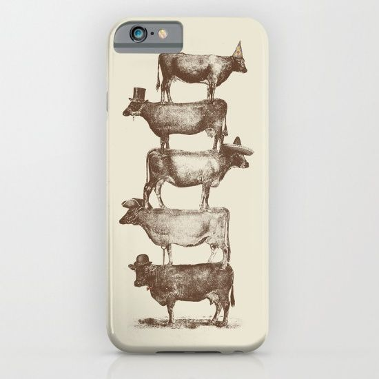 Cow Cow Nuts iPhone