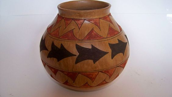 Native American Vase from the Southwest: