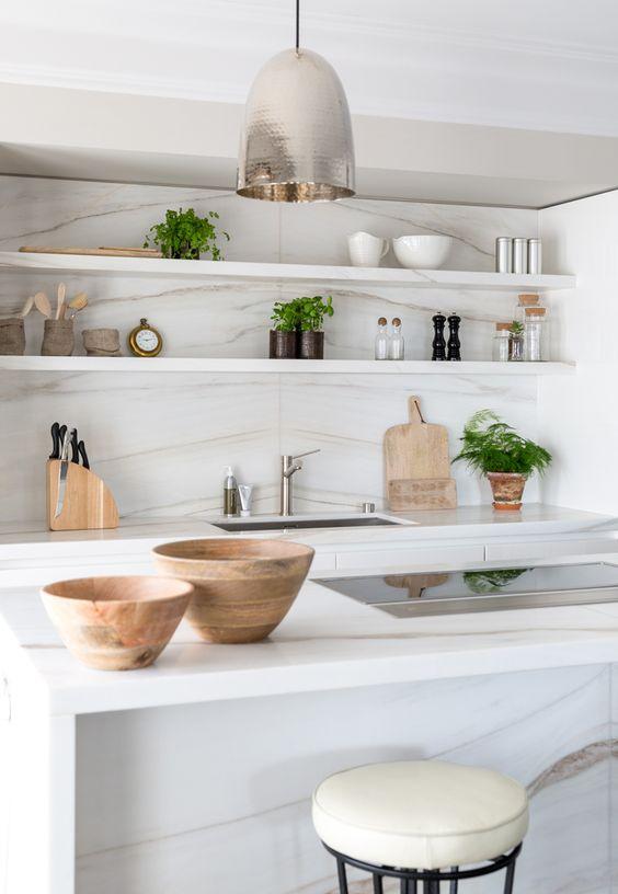 Neutrale Farben Küchen Gestaltung Kochinsel Moderne Abzugshaube