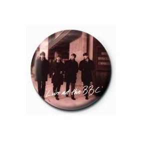 Pyramid International Rozet - The Beatles (Live At The Bbc) - 25 mm Rozet - BunlardanIstiyorum.com