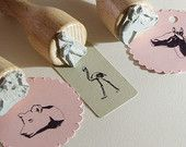 Animal Rubber Stamps Ø 22mm - Large Variety