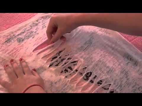 DIY: How to Cut/Weave a Shirt