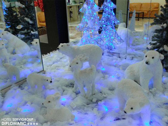 Navidad blanca en el Hotel Servigroup Diplomatic de Benidorm / White Christmas at the Hotel Servigroup Diplomatic in Benidorm