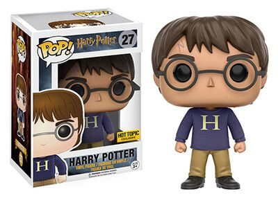 27 Harry Potter H Jersey Funko Pop