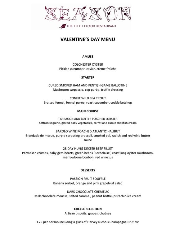 ValentineS Day At Seasons Restaurant On The Th Floor Of Harvey