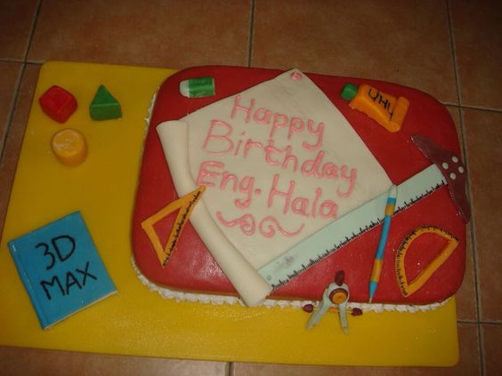Komal Birthday Cake Images : Interiors, Cakes and Graduation cake on Pinterest