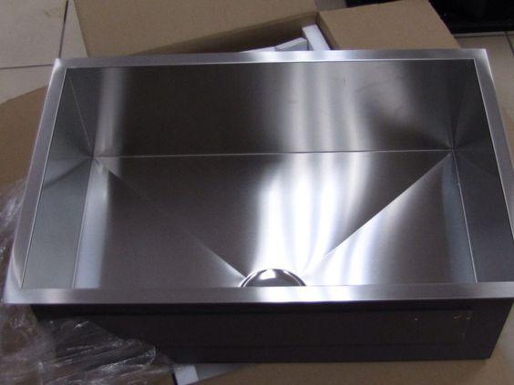 "New 29""X19""X10"" Single Bowl Undermount 16 Gauge Stainless Steel Kitchen Sink #lansida $210"