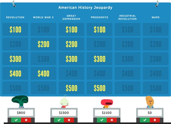 Jeopardy Rocks Create An Online Jeopardy Game In Minutes ItS Free