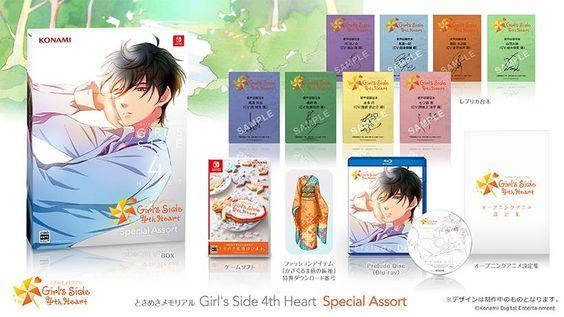 Game Tokimeki Memorial: Girl's Side 4th Heart Cho Switch Ra Mắt Vào Ngày 28 Tháng 10