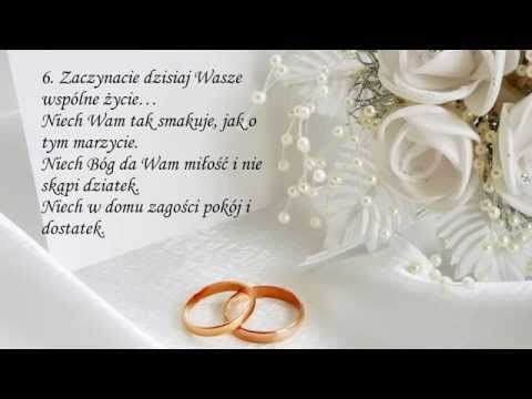 Najpiękniejsze życzenia ślubne Z Okazji ślubu