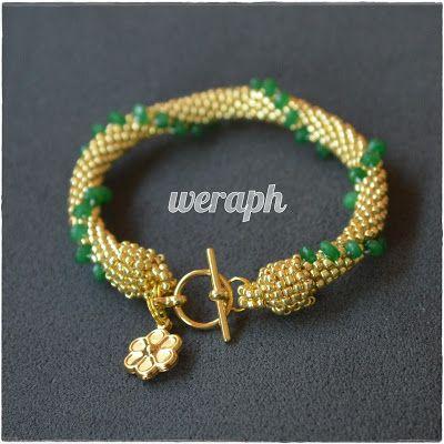 Koraliki tudzież: Beaded Bracelets, Bead Crochet, Beads Tudzież, Beads Works, Beaded Crochet, Bead Crotchet, Bracelets Bangles