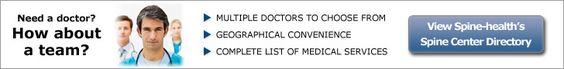 Spine Center Directory