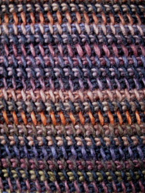 Tunisian Crochet Afghan Closeup   Tunisian crochet, Crocheted ...