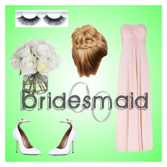 """Bridesmaid"" by afashionfangirl230 ❤ liked on Polyvore featuring Kaliko, Diane James and Vicenza Silver"