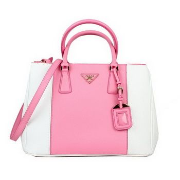 Prada Pink And White Purse Authentic Prada Nylon Bag