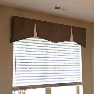 Contemporary Window Valance Cornice Valance Modern Windows