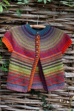 Scandinavian Knitting Design - lanas online ......... made to order so this is glorious Inspiration!!