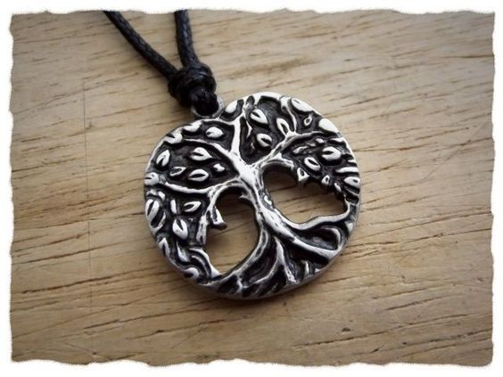 "Tree of Life ""Yggdrasil"" made of pewter"