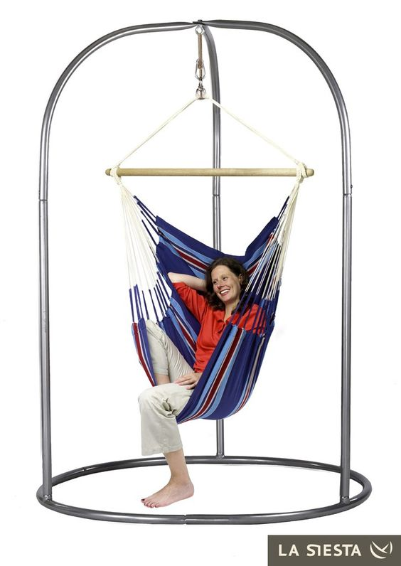 single hängesessel la siesta garten Basic Caribeña lila