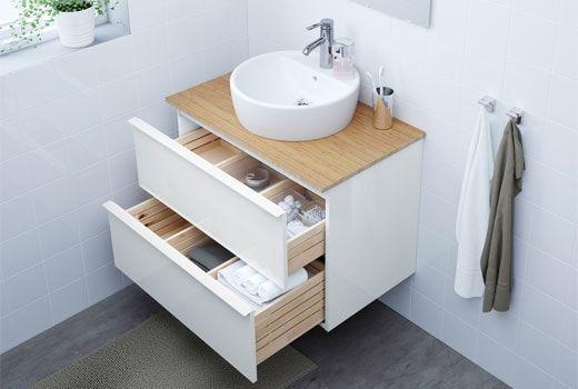 Mobilier Et Decoration Interieur Et Exterieur Badezimmer Ikea Godmorgon Gaste Wc