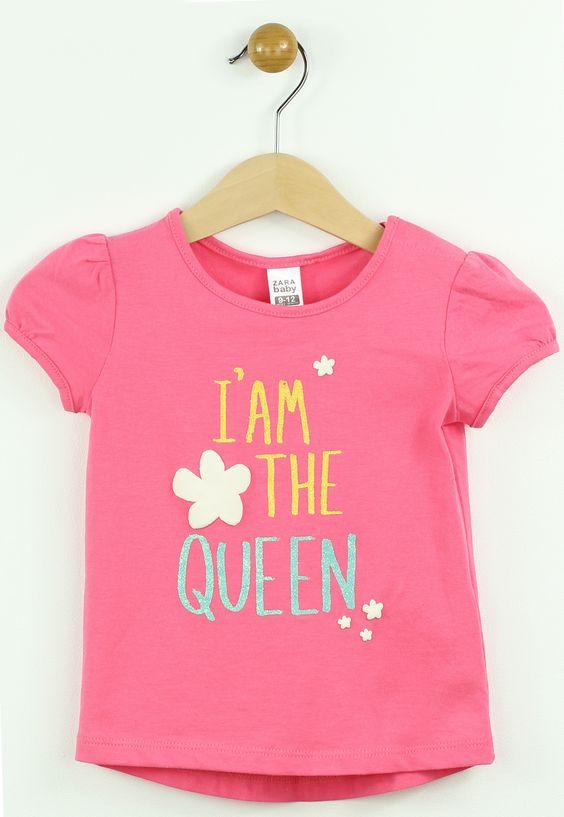 Tricou ZARA Pondo Pink - doar 34,90 lei. Cumpara acum!