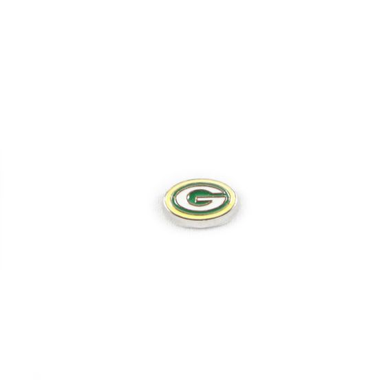 Green Bay Packers Floating Locket Charm Collection - Shop by Necklace Collection, Keychain Collection, Charms & Dangles, Just Charms, or Only the Team Charm! https://www.etsy.com/listing/460298630/green-bay-packers-style-football-season
