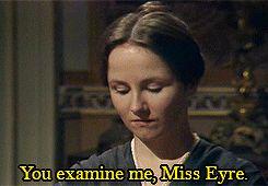"""Do you find me handsome?"" - Jane Eyre 1983"