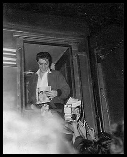 January 7th, 1957 at approx. 7.05 pm in Greenville, Tn. on his way back to Memphis from his last appearance on the Ed Sullivan show