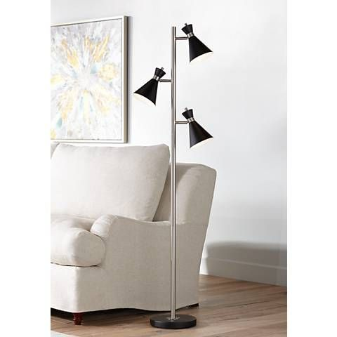 Donovan Led 3 Light Tree Floor Lamp 15a09 Lamps Plus Tree Floor Lamp Stylish Floor Lamp Contemporary Floor Lamps