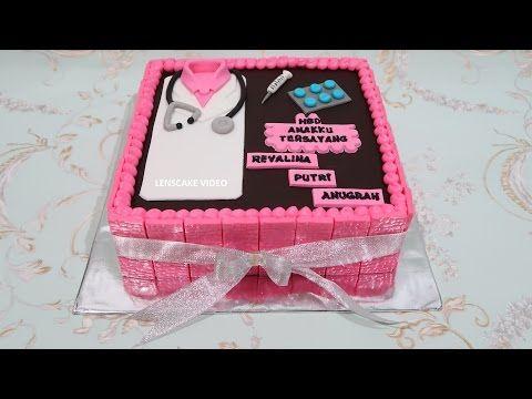 Kue Ulang Tahun Stick Coklat Dan Green Tea Youtube Make Birthday Cake Birthday Themed Cakes