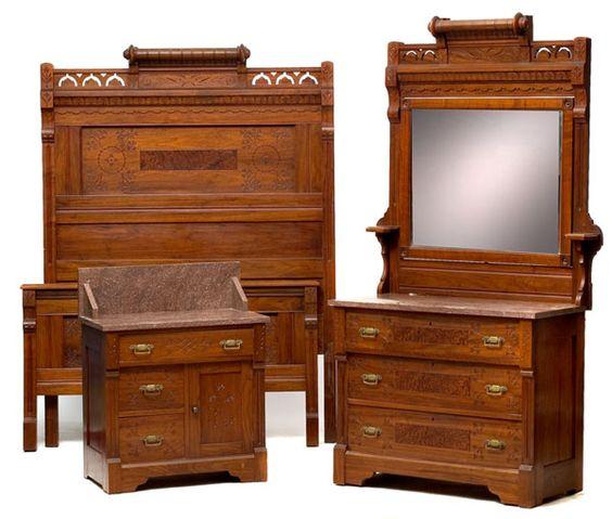 The Furniture Manufactured By The Deinzer Furniture Company Detroit Michigan Ca 1875 1885