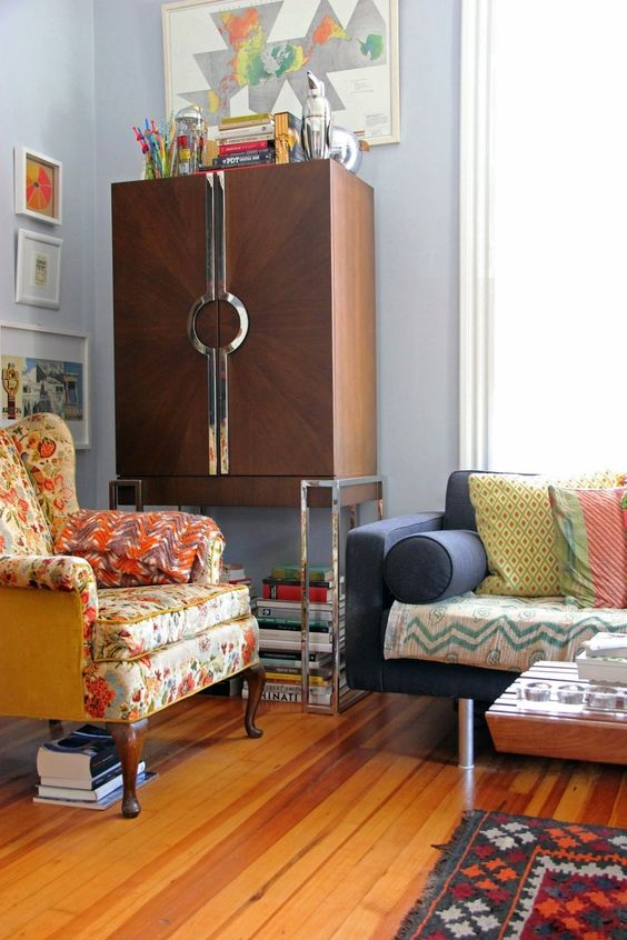 House Tour: A Colorful House in North Carolina | Apartment Therapy