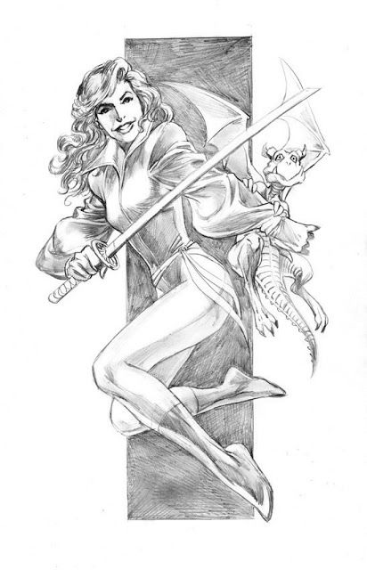 Marvel Comics of the 1980s: Kitty Pryde by Alan Davis