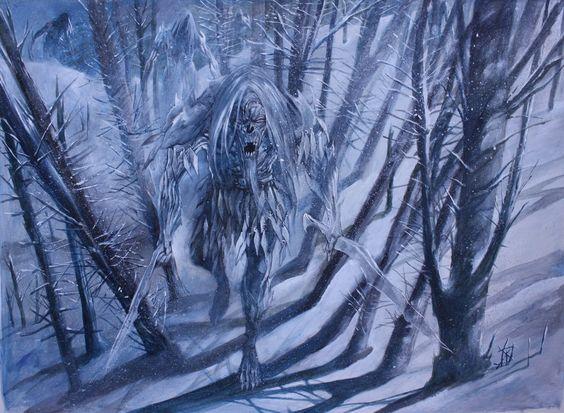The White Walkers by Wiligothic.deviantart.com on @deviantART