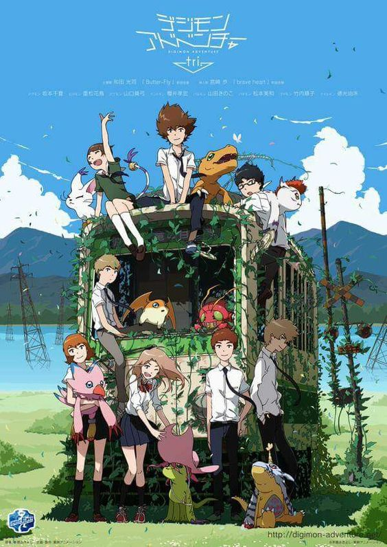Digimon Tri. I'm so excited for this! :):
