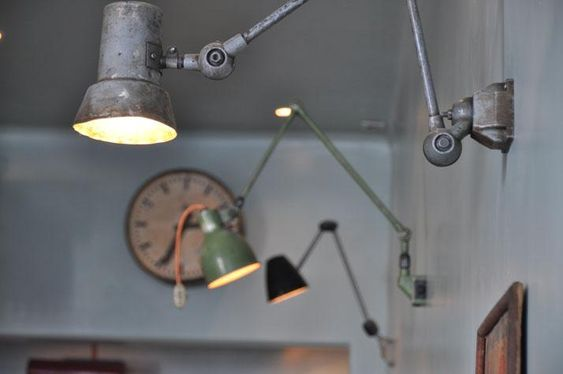 Industrial lighting at the Atelier Mecanic, Romania