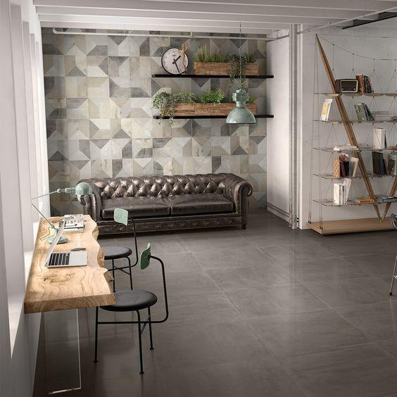 Decor Mural Carrelage Effet Resine 30x30 Soft Rectifie Collection