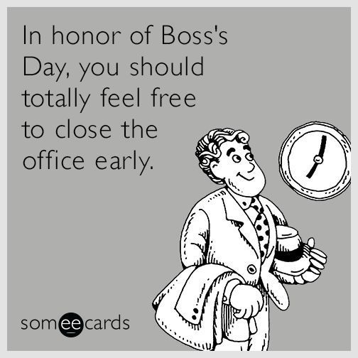 8 Best Holiday Boss S Day Images On Pinterest Bosses Day Ecard Funny Usha Greetings Boss Day Quotes National Bosses Day Boss Day Memes