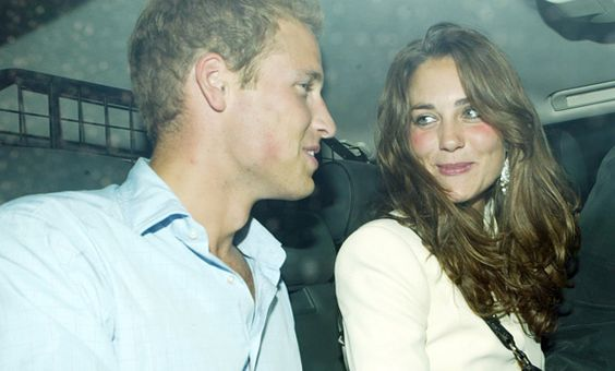 Prince William and his girlfriend Kate Middleton seen leaving Boujis nightclub in South Kensington.