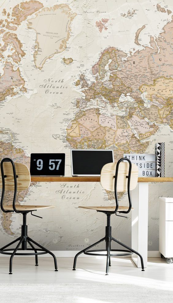 World Map Wallpaper Wallsauce Wallsauce Map Wallpaper World Map Wallpaper World Map Mural