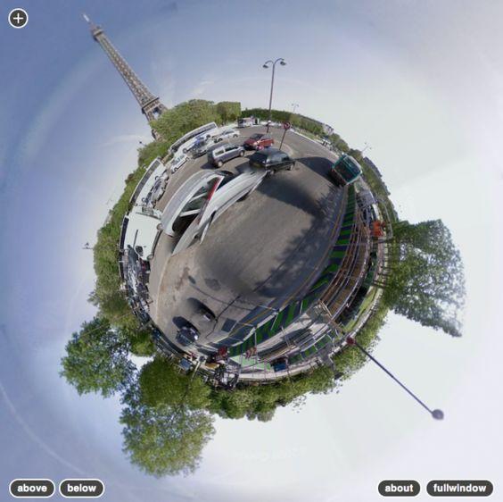 Stereoscopic Google Streetview