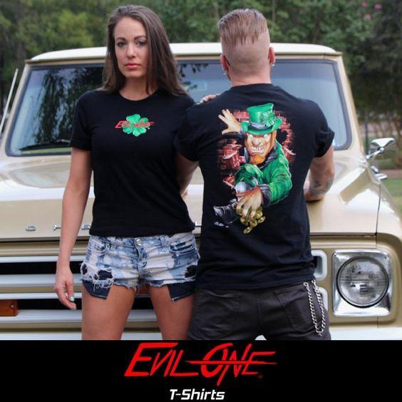 More Evil One® Biker T-Shirts pictures at blog.lightningcustoms.com/evil-one-t-shirts-car/   --   www.EvilOne.net  --   #bikertshirts
