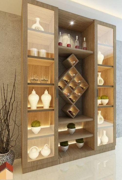 Among The Furnishings That You Can Have Is An Attractive Cupboard Attractive Clo Cristaleira Para Sala De Jantar Cozinhas Modernas Decoração Da Sala De Jantar