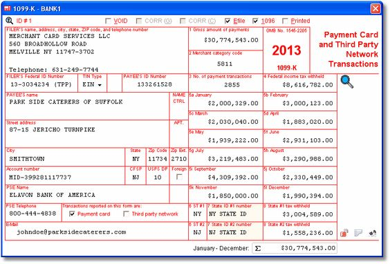 Account Abilitys 1099-K User Interface - Payment Card and Third - certified payroll form