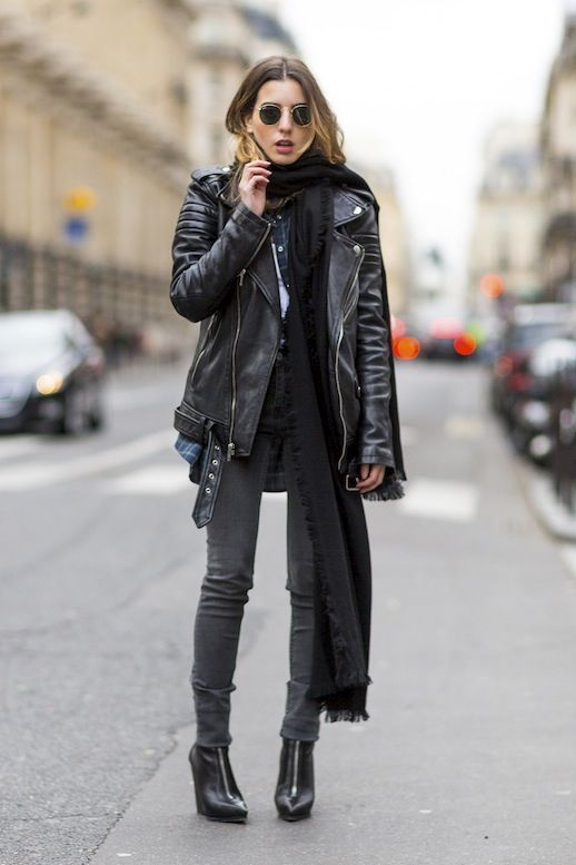 Fall trends | Edgy black styling