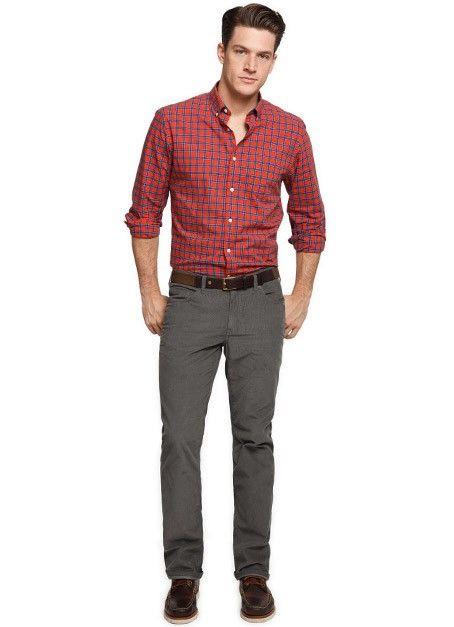 gray corduroy pants - Pi Pants