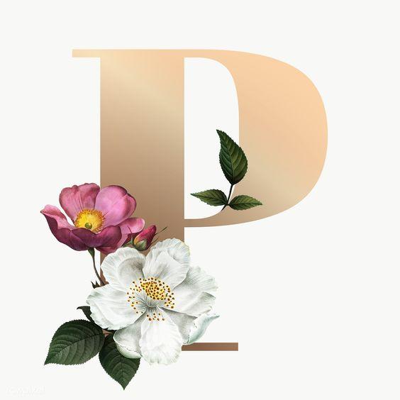 Classic And Elegant Floral Alphabet Font Letter P Transparent Png Free Image By Rawpixel Com Manota Fonts Alphabet Lettering Fonts Lettering Alphabet Fonts