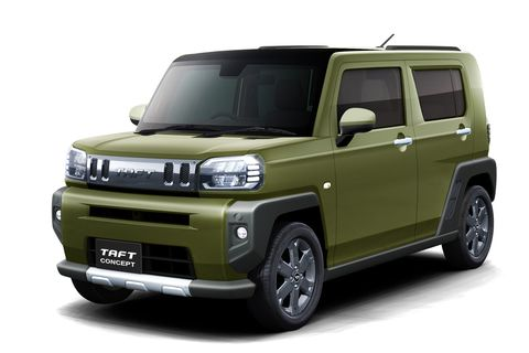 ダイハツ、2020年央発売に向けて開発中の軽クロスオーバー「TAFT コンセプト」東京オートサロン 2020に世界初出展 - Car Watch