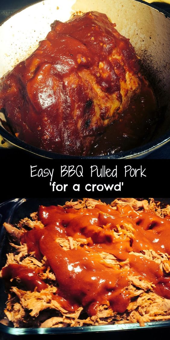 easy bbq pulled pork 39 for a crowd 39 aunt bee 39 s recipes