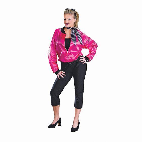 Pink+Ladies+T+Bird+Sweetie+Halloween+Costume+for+Women+-+ - greaser halloween costume ideas